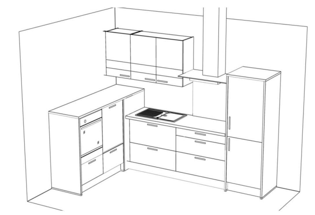 sch ller k che nova bg501228 madeia wesfa ihre. Black Bedroom Furniture Sets. Home Design Ideas