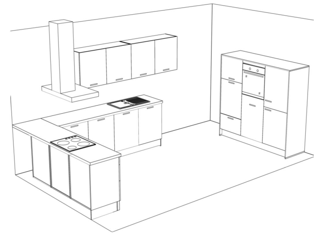 sch ller k che fino madeia wesfa ihre traumk che preiswert finden. Black Bedroom Furniture Sets. Home Design Ideas