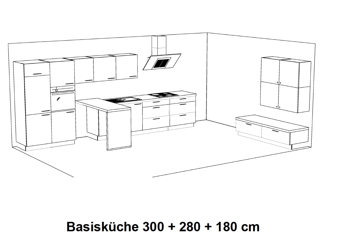 nolte k che lux em31838e madeia wesfa ihre traumk che preiswert finden. Black Bedroom Furniture Sets. Home Design Ideas
