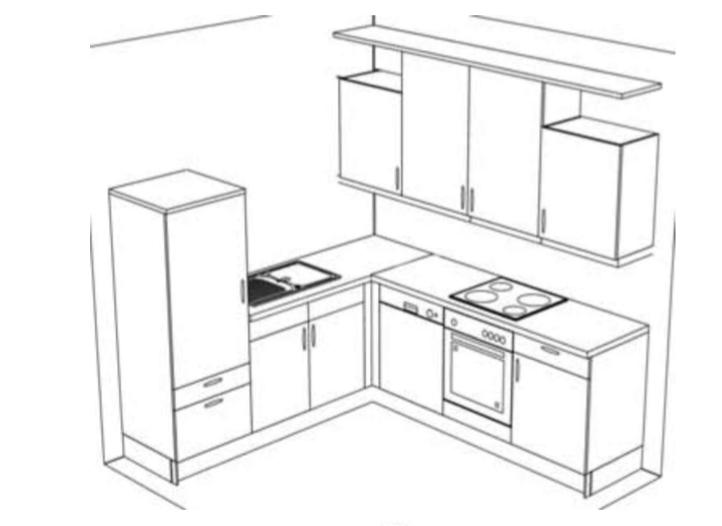 sch ller k che monza plus bg501057 madeia wesfa ihre. Black Bedroom Furniture Sets. Home Design Ideas